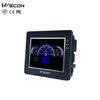 wecon mini hmi communicate with PLC serial ports from china manufacturer