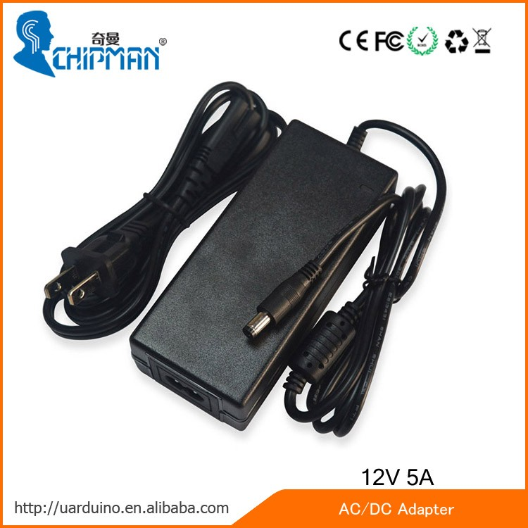 Wholesale Desk Type 12V 60W AC Adapter 12V DC Power Adapter 12V 5A ...
