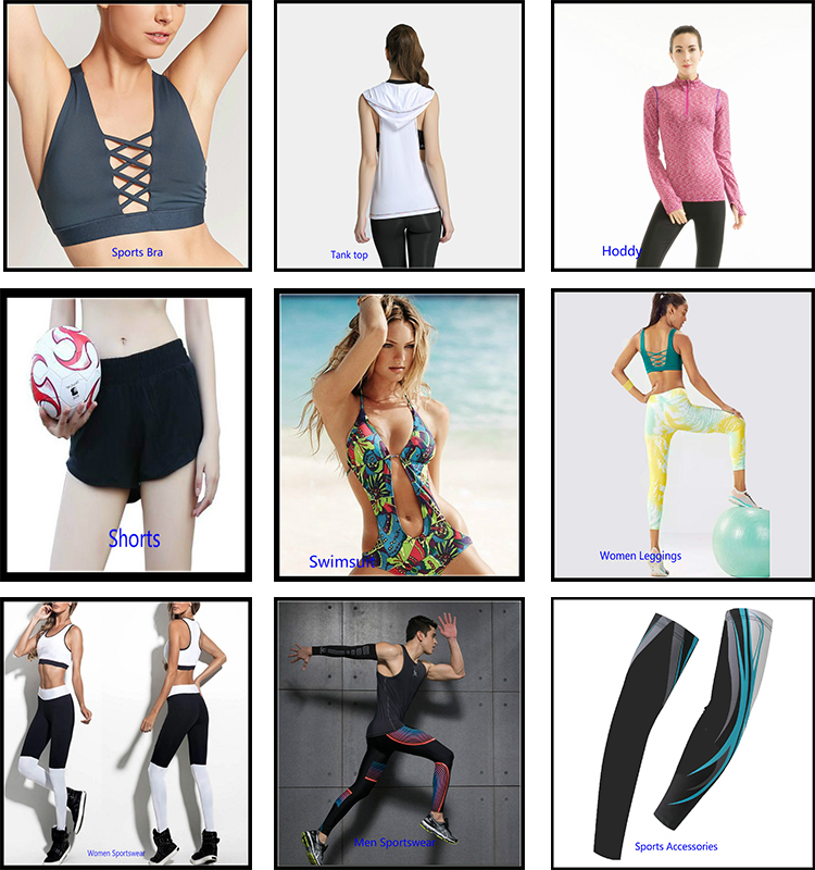 New arrival custom fitness wear sport bra top and legging yoga wear