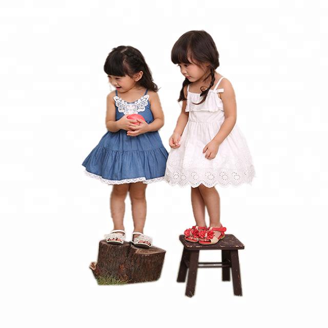 a453f23fffc68 أحدث تصميم فستان طفل الجينز طفل اللباس ، أحدث الأطفال الفساتين التصاميم  لمدة 3 سنوات طفل
