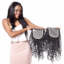 2017 New Products Brazilian human hair 4x4 cheap Lace frontal Closure piece