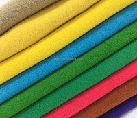 Factory sale 100% polyester two sides brush one side antiplling polar fleece fabric