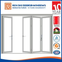 China product soundproof aluminum glass exterior doors open out