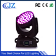 36x10w rgbw quad led moving head wash light Wash ZOOM for Stage DJ Disco
