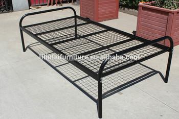 Reti Da Letto Metalliche : Re letto singolo in acciaio struttura letto con rete metallica