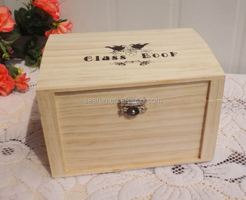 ecofriendly decorative storage boxespine wood gift box