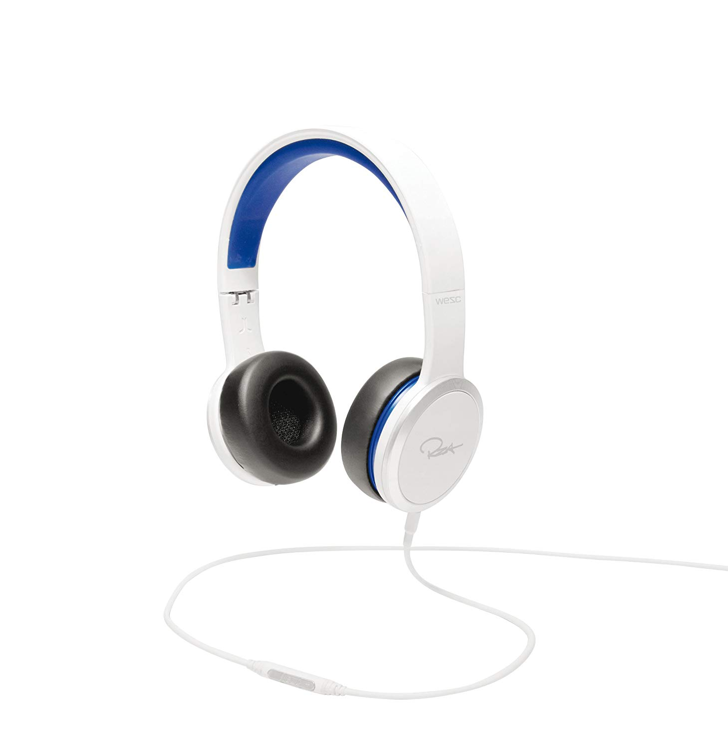 WeSC RZA Street Headphones (White/Blue)