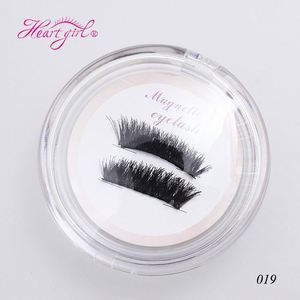 Premium Quality Natural Soft 3D Mink Fur Eyelashes Magnetic