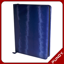 top selling custom leather file folder, leather portfolio for men