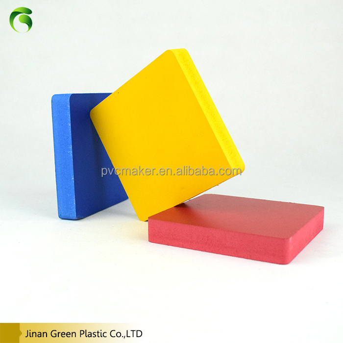 2018 Green Brand 10mm 12mm 14mm 15mm 16mm 18mm pvc foam board for reptile cages