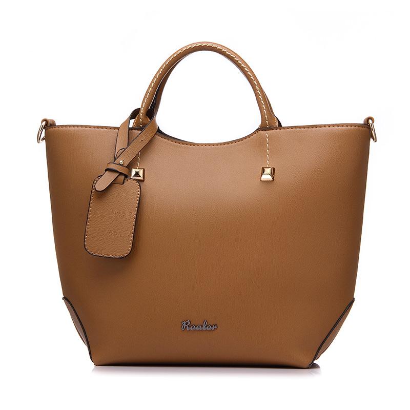 REALER женская сумочка, большая сумка ведро с короткими ручками, дизайнер сумок высокого качества из искуственной кожи, алая вечерняя сумка на ...(Китай)