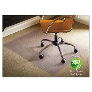 """Es Robbins - Natural Origins Chair Mat For Carpet 46 X 60 Clear """"Product Category: Office Furniture/Chair Accessories"""""""