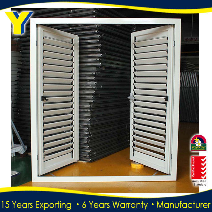 exterior aluminum louvered doors. aluminum louver door/plantation shutters/exterior aluminium door for ventilation exterior louvered doors
