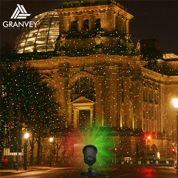 rgb outdoor motion sensor light moving red green blue christmas laser light led - Led Laser Christmas Lights