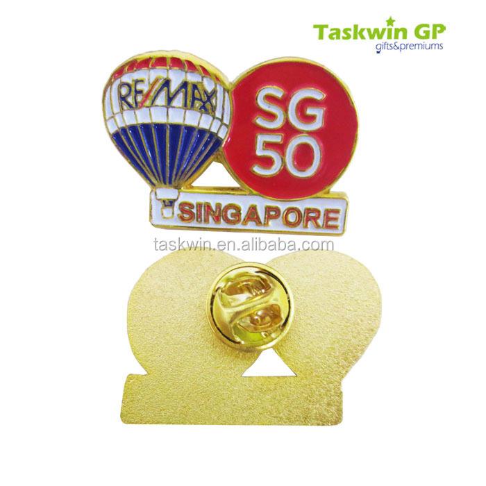 China Supplier High Quality Remax Singapore Sg50 Metal Badge ...