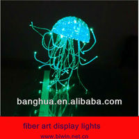 fiber art display lights