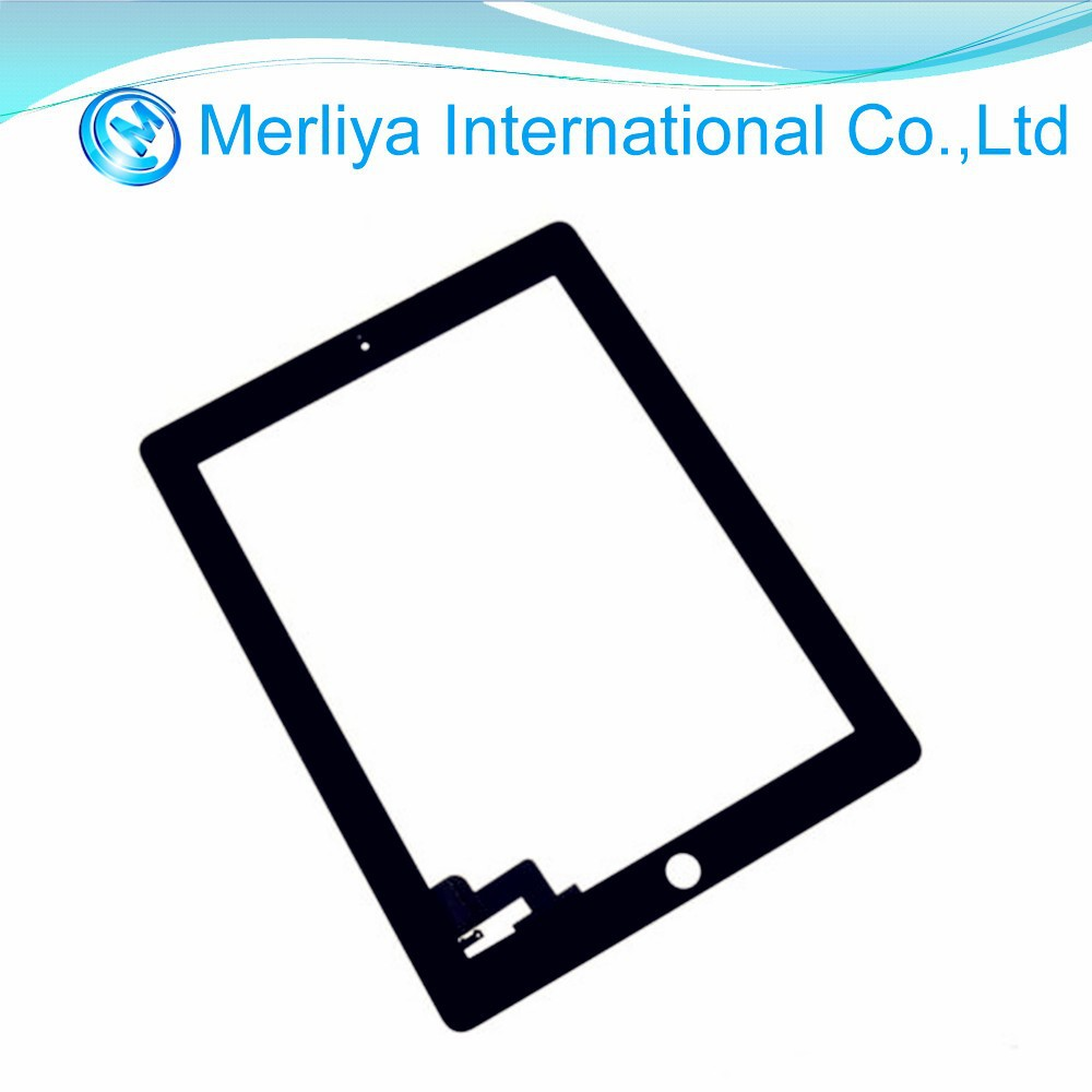 Black Touch Screen Glass Digitizer Replacement for Apple iPad 2