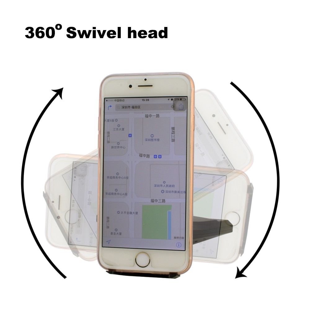 Universal car mount holder magnetic car phone holder, 360 degree rotating
