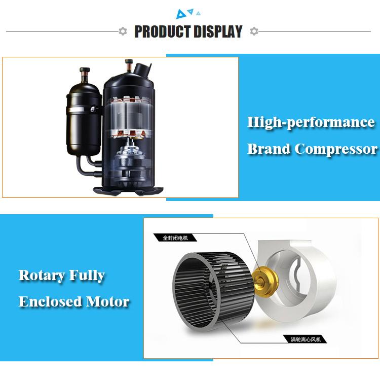 30%-80% RH controle koeling ontvochtiger