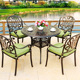 cast aluminum prestige outdoor indoor patio furniture sets durable leisure ways garden dinning round square dtable and chair