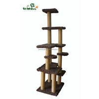 2016 Factory price pet products of competitive new arrival cat tree