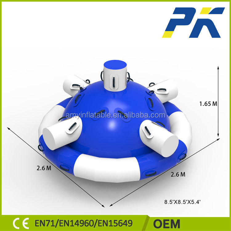 CE listed PVC material customized size giant inflatable toy kids inflatable pool water toys
