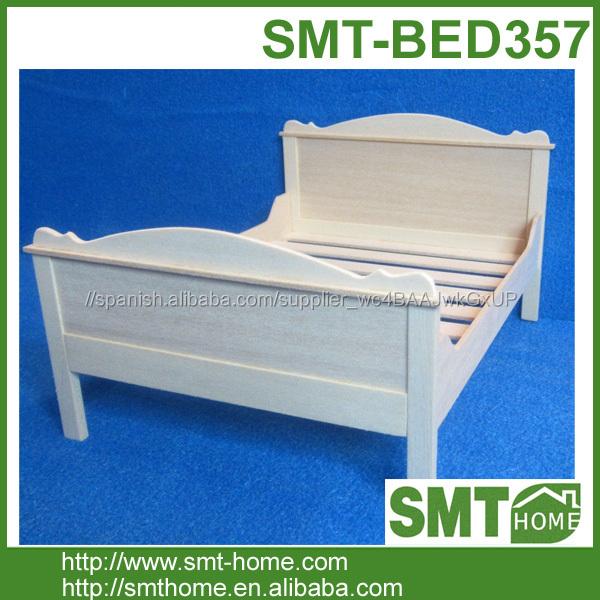 Reina Blanca madera cama individual cama hecha a medida-Camas ...