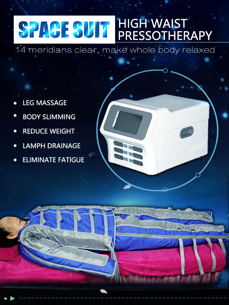 Infrared pressotherapy jacket +leg massage lymphatic drainage machine/body slimming pressoterapia beauty salon equipment