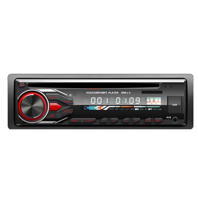 Singolo din 12 V car audio video player con lettore cd con il prezzo poco costoso