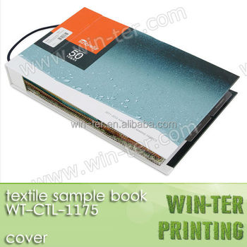 Wt-ctl-1175 2015 new design fabric sample folder buy fabric.