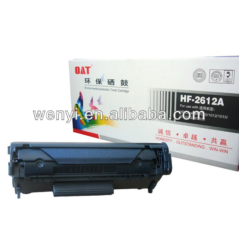 laser toner cartridge & toner cartridge 2612a