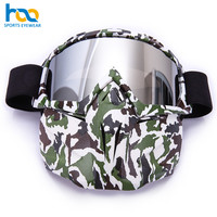China New Arrival Custom Ski Mask TPU Flexible Frame OEM Ski Goggles