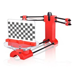 BIQU 3d Ciclop Scanner DIY kit portable red injection molding plastics cheap 3d laser scanner price