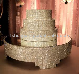 Cs124 Beautiful Crystal Cake Stand For Wedding Decoration
