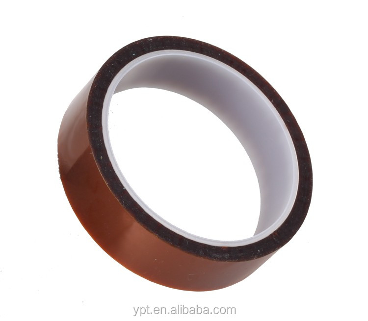 50mm*33m high temperature Silicone Tape/Ploymide 50mm high temp tapes/High temperature adhesive tapes
