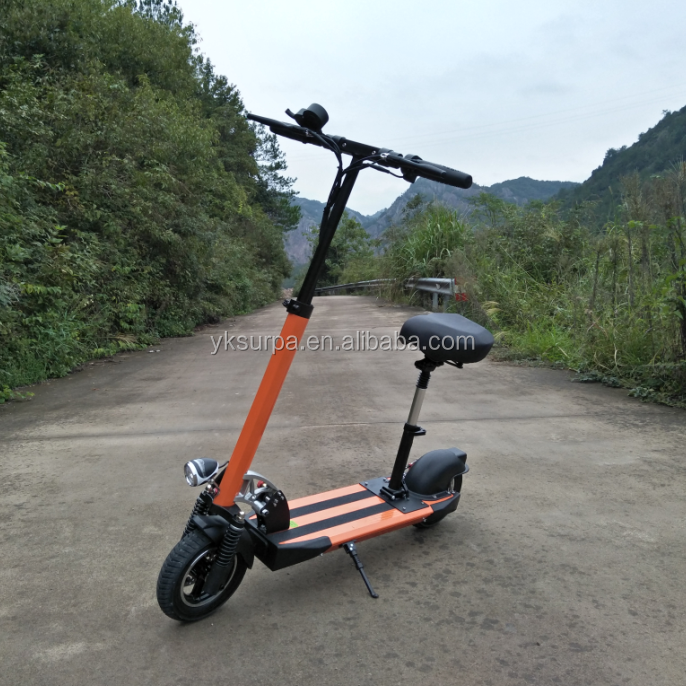 10inch 350w 500w 800w 36v 48v foldable e-scooter/electric powered skateboard/2 wheel stand up electric scooter