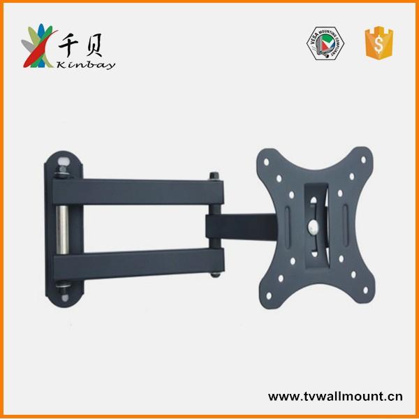 Full motion swivel 360 degree 47 55 inch motorised tv wall for Motorized swing arm tv mount