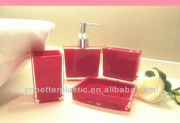 acrylic bathroom accessories, acrylic bathroom accessories