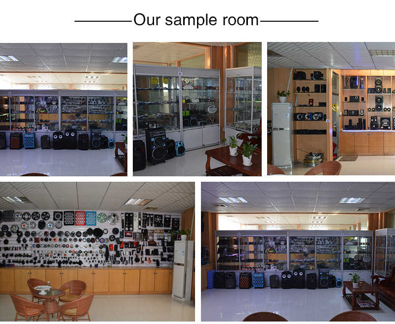 The product show room