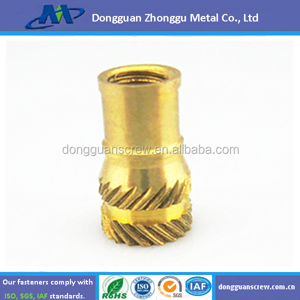 2015 Ultrasonic Brass Threaded Inserts For Plastics,Furniture ...