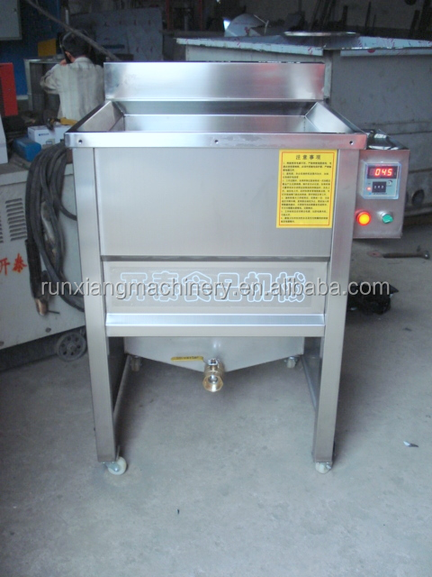 Fast food resturant used french fries frying machine