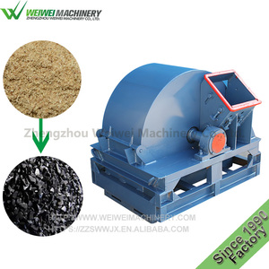 WeiWei tree logs good quality industrial ce approved waste wood crusher hammer mill