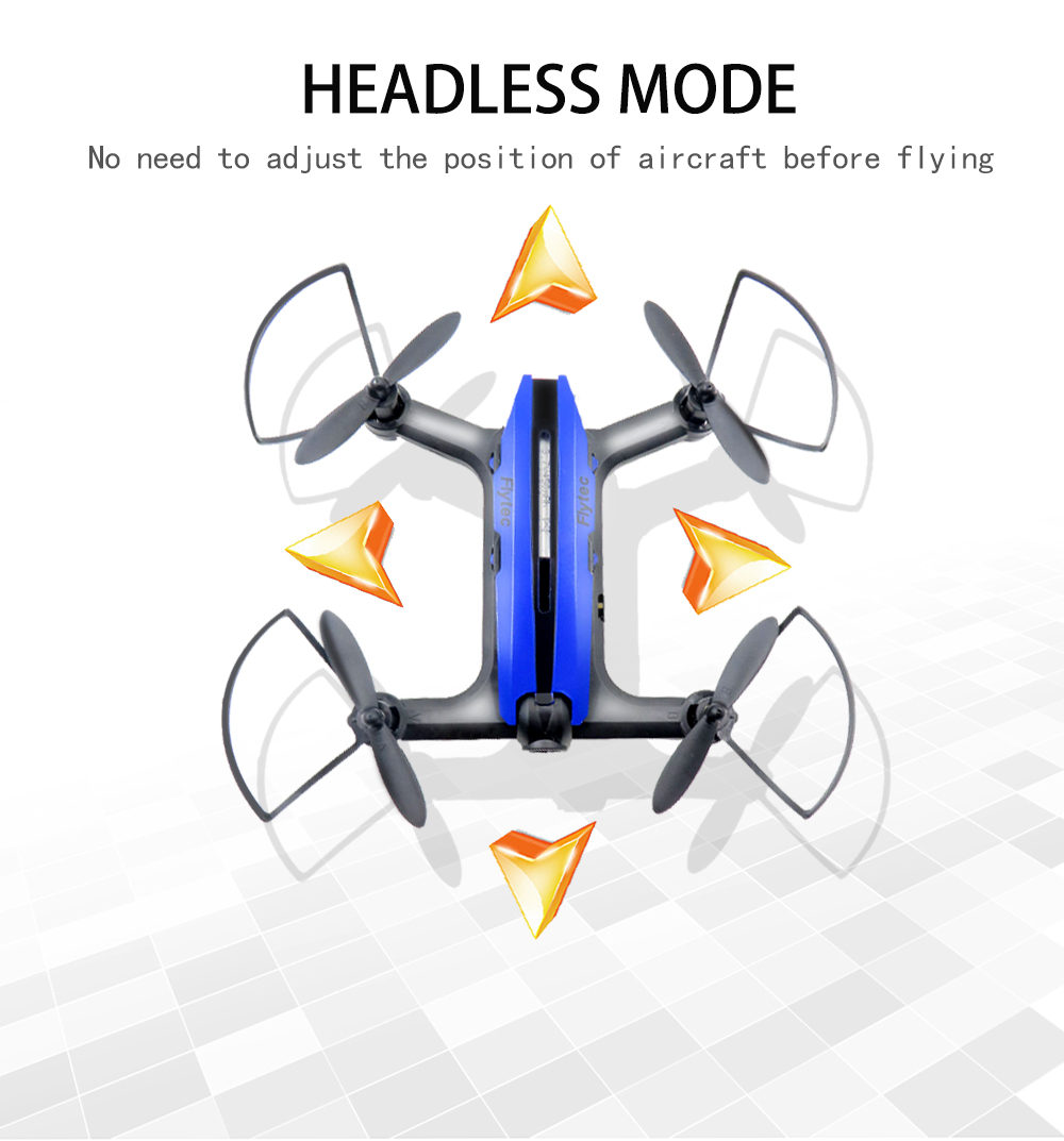 SHIPPED FROM OVERSEA WAREHOUSE Newest Flytec T18D Mini Racing Drone RC Quadcopter With WiFi FPV 720P Wide Angle HD Camera