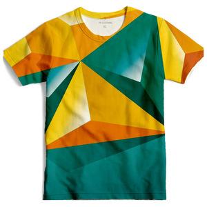 Men full print polo t shirt custom printing cheap t-shirt