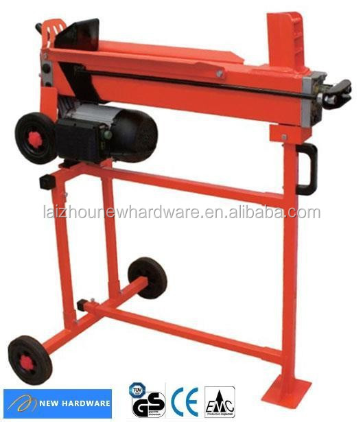 Horizontal Log splitter 5T with stand, CE/GS/EMC/Rohs approved, hot sale