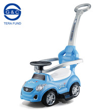 Kids push car ride on toy with push handle