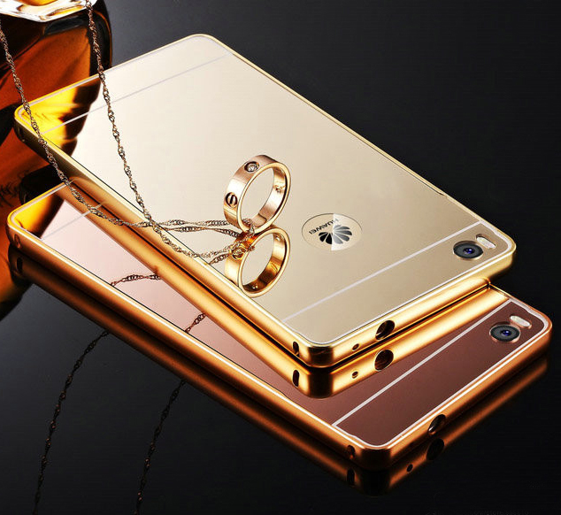 super popular 2a6ea 49c34 New Luxury Metal Bumper Case Shockproof Plating Mirror Back Cover For  Huawei Ascend P8 Lite Metal Case Free Shipping - Buy Luxury Case For Huawei  P8 ...