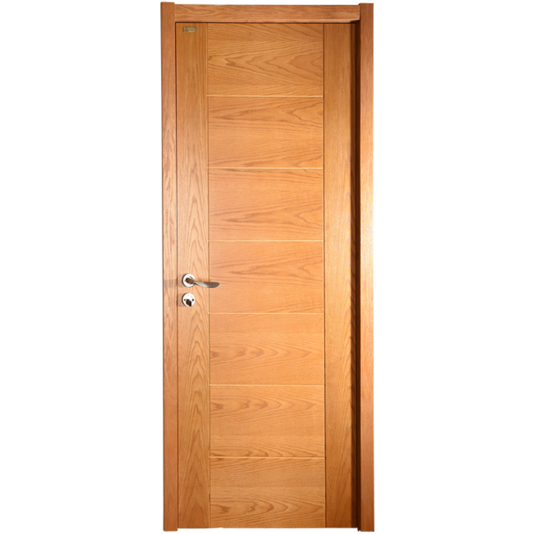 Customized Designs Heavy Weight Waterproof Mdf Solid Laminated Veneer Wooden Flush Doors