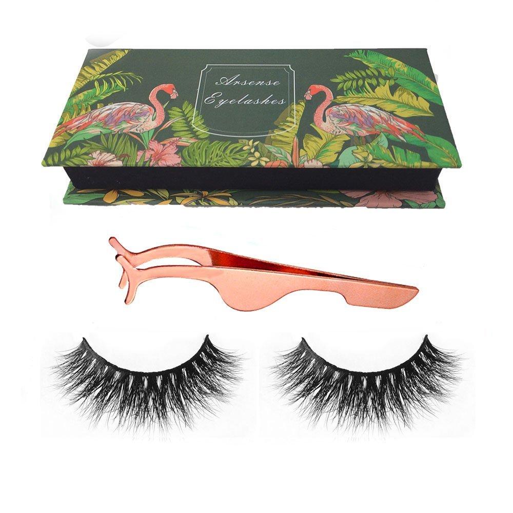 514d5cebd67 Get Quotations · 3D Mink Lashes Hand-made Dramatic Makeup Strip Lashes 100% Siberian  Fur Fake Eyelashes