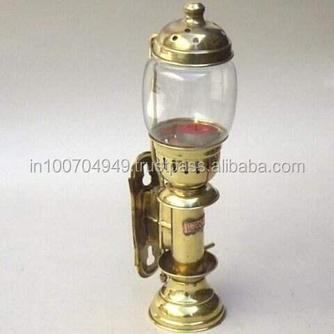 Marine Oil Lamp Brass Lantern Vintage Hanging Lantern Marine Ship Lamp Decor